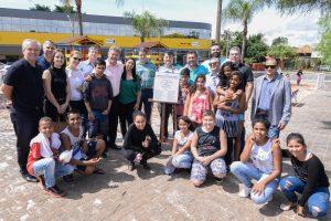 Comunidade aprova espaço de  recreação infantil na Praça Dalva