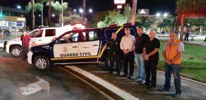 Guarda Municipal e Defesa  Civil ganham novas viaturas