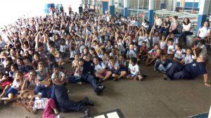 Mais de 5 mil crianças assistiram  ao teatro educativo da Guarda Civil