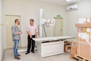 Instalação do aparelho de raios-x na UPA  do Cervezão entra na reta final