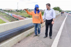 Prefeitura inicia fase final de  obra para água em Assistência