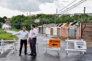 Prefeitura inicia melhorias  na ponte do Jardim Novo