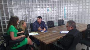 Políticas públicas para pessoas com deficiência são tema de reunião entre equipe de RC e a senadora eleita Mara Gabrilli