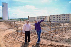 Prefeitura inicia construção do alicerce  em escola no Jardim das Nações 2