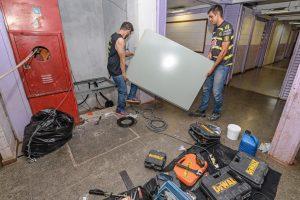 Escola Caic ganha elevador  e garante acessibilidade