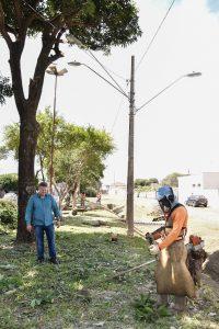 Prefeitura amplia iluminação  pública na Vila Alemã