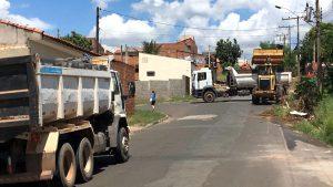 Prefeitura recolhe mais de 500 toneladas de lixo dos Jardins Novo 1 e 2