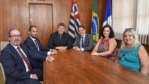 Juninho recebe visita da nova  diretoria da OAB de Rio Claro