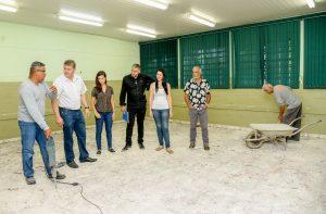 Prefeitura investe em melhorias na escola Sylvio de Araújo