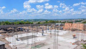 Prefeitura avança na construção  de creche no Jardim Araucária