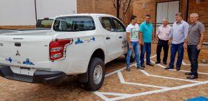 Veículo 0 km reforça trabalho de  Combate à dengue em Rio Claro