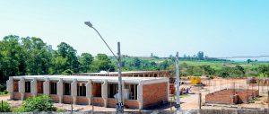 Obras da nova escola no Jardim  Novo avançam em Rio Claro