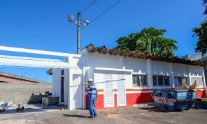 Obras da 2ª base do Samu prosseguem  com instalações elétricas e pintura